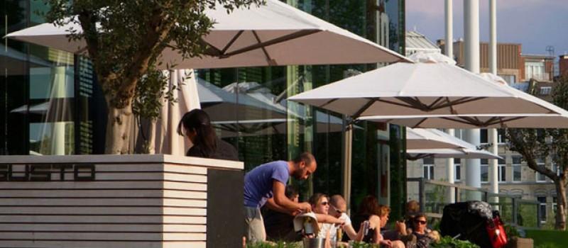 Solero Prostor parasol hospitality