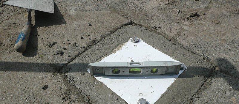 Ground-anchor level