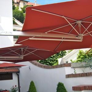 P4 wall parasol Ø250cm