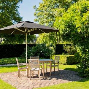 Solero Patio garden parasol 3x3